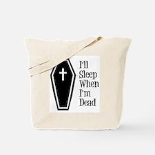 Morbid Insomniac Tote Bag