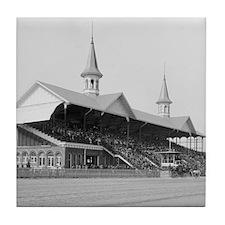 Churchill Downs, 1901 Tile Coaster