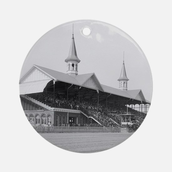 Churchill Downs, 1901 Round Ornament