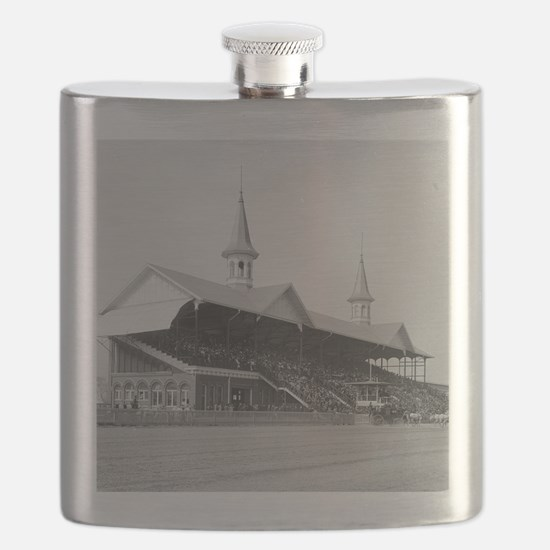 Churchill Downs, 1901 Flask