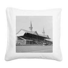 Churchill Downs, 1901 Square Canvas Pillow