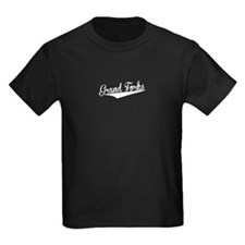 Grand Forks, Retro, T-Shirt