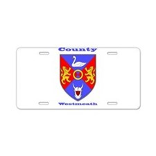 County Westmeath COA Aluminum License Plate