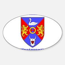 County Westmeath COA Decal