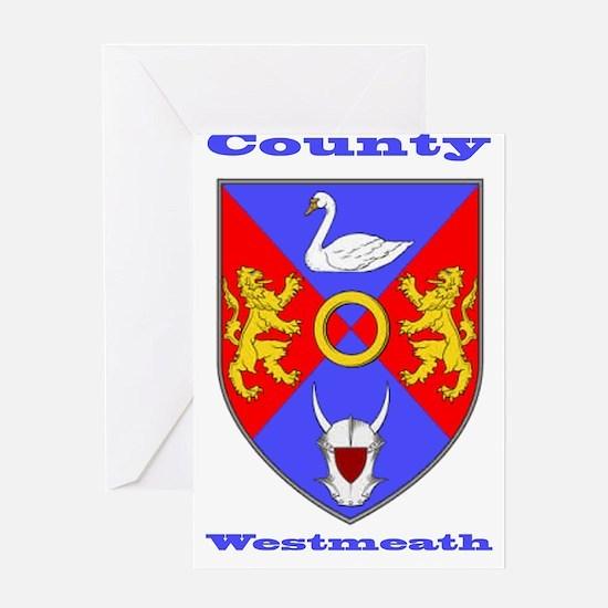 County Westmeath COA Greeting Cards