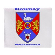 County Westmeath COA Throw Blanket