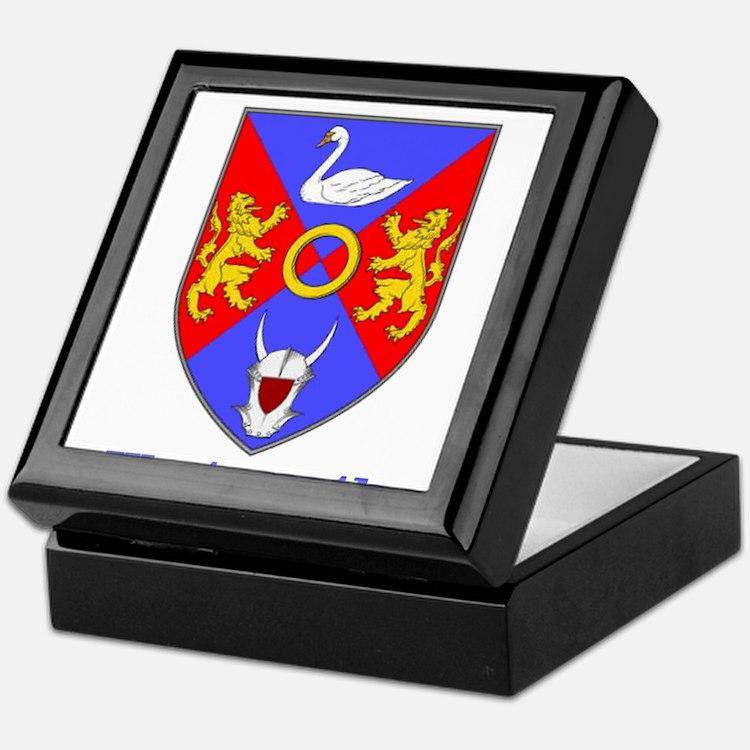 County Westmeath COA Keepsake Box