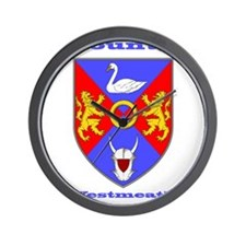 County Westmeath COA Wall Clock