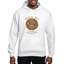 Gluten free Cookie monster cute brown biscuit Jump