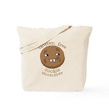 Gluten free Cookie monster cute brown biscuit Tote