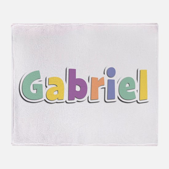Gabriel Spring14 Throw Blanket