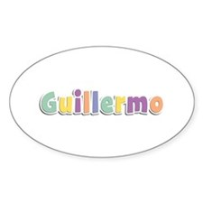 Guillermo Spring14 Oval Decal