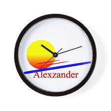 Alexzander Wall Clock