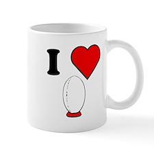 I Heart Rugby Mugs