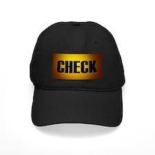 """Check"" Baseball Hat"