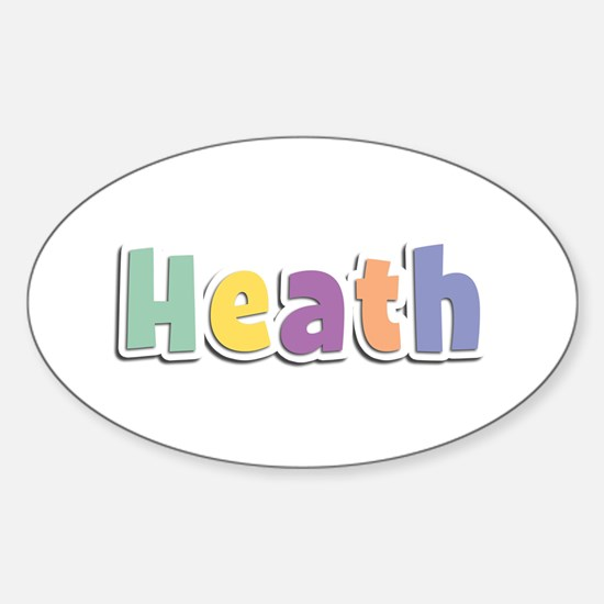 Heath Spring14 Oval Decal