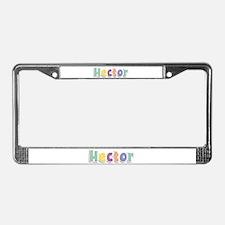 Hector Spring14 License Plate Frame