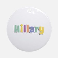 Hillary Spring14 Round Ornament