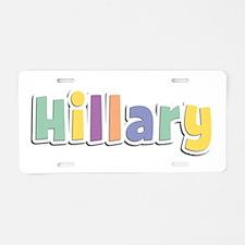 Hillary Spring14 Aluminum License Plate