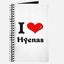 I love hyenas Journal