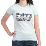 One Beer At A Time Jr. Ringer T-Shirt