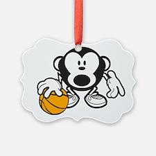 Basketball Monkey Ornament