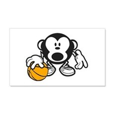 Basketball Monkey Wall Decal