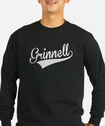 Grinnell, Retro, Long Sleeve T-Shirt