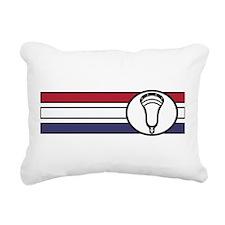Lacrosse United 04 Rectangular Canvas Pillow
