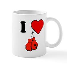 I Heart Boxing Mugs