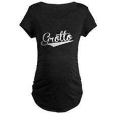 Grotto, Retro, Maternity T-Shirt