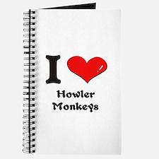 I love howler monkeys Journal