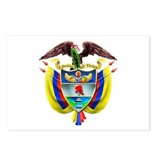 Colombia COA Postcards (Package of 8)