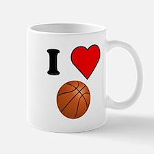 I Heart Basketball Mugs