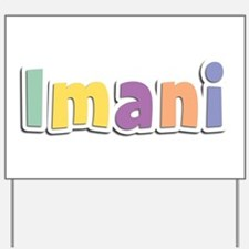 Imani Spring14 Yard Sign