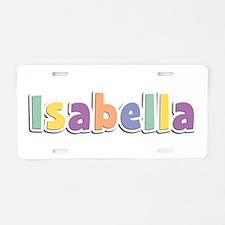 Isabella Spring14 Aluminum License Plate