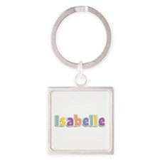 Isabelle Spring14 Square Keychain