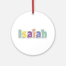 Isaiah Spring14 Round Ornament