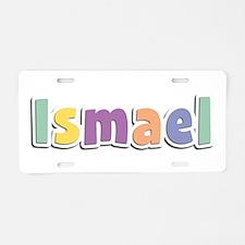 Ismael Spring14 Aluminum License Plate