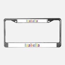 Izabella Spring14 License Plate Frame