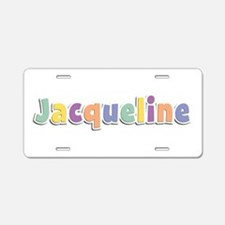 Jacqueline Spring14 Aluminum License Plate