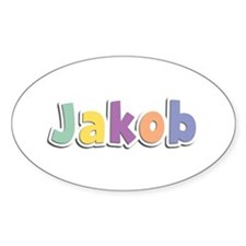 Jakob Spring14 Oval Decal