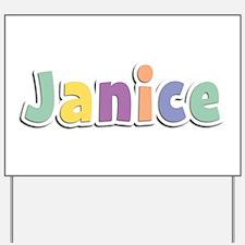 Janice Spring14 Yard Sign