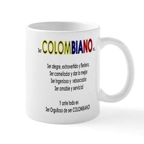 Que es ser colombiano Mug