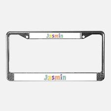 Jasmin Spring14 License Plate Frame
