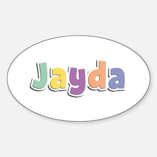 Jayda Spring14 Oval Decal