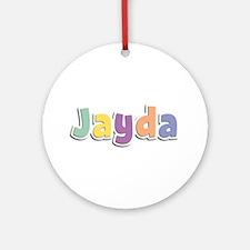 Jayda Spring14 Round Ornament