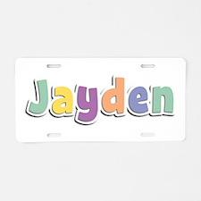 Jayden Spring14 Aluminum License Plate