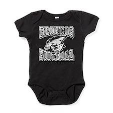 Broncos Football Baby Bodysuit