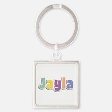 Jayla Spring14 Square Keychain
